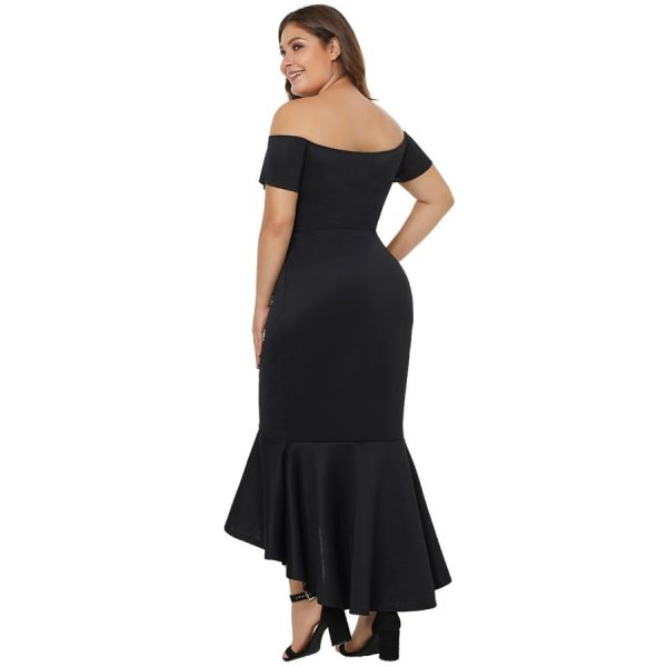 Boat Neck Evening Dress Party Dresses