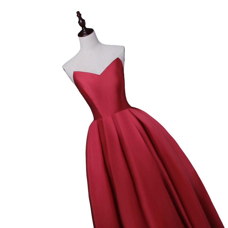 Party Prom Dress Vestido De Festa Sweetheart
