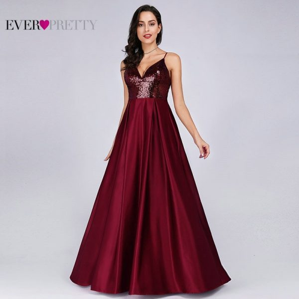 Prom Dresses Satin Sexy Party Gowns