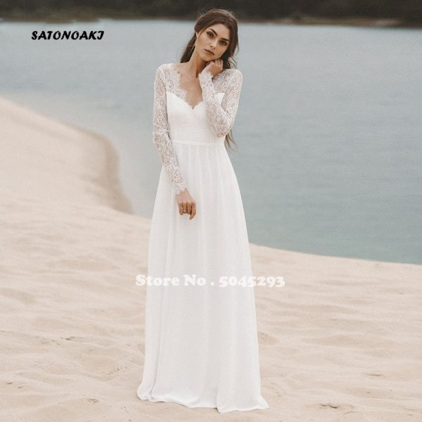 Beach Reception Wedding Dress