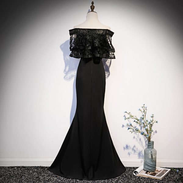 Black Evening Dress Party Long Dress