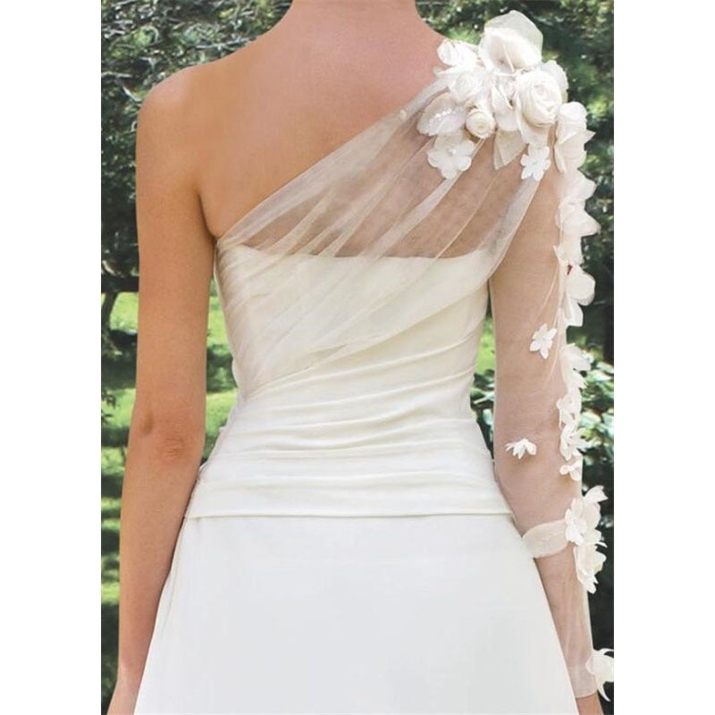 Bridal Gowns 3D Floral Wedding Dresses