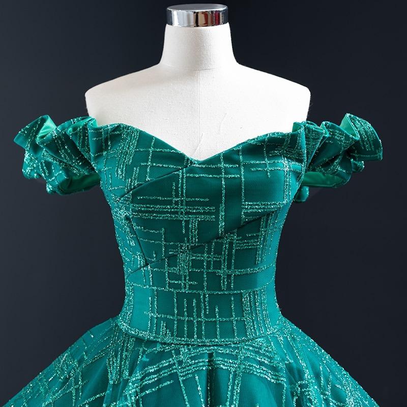 Evening Dress Off Shoulder Ball Gown