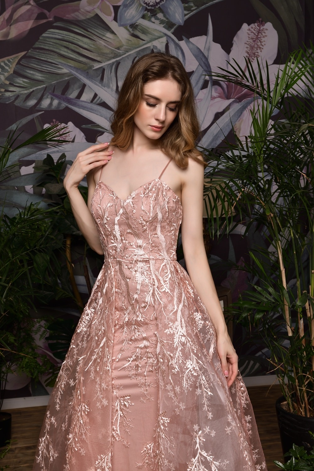 Pink Formal Party Prom Dresses