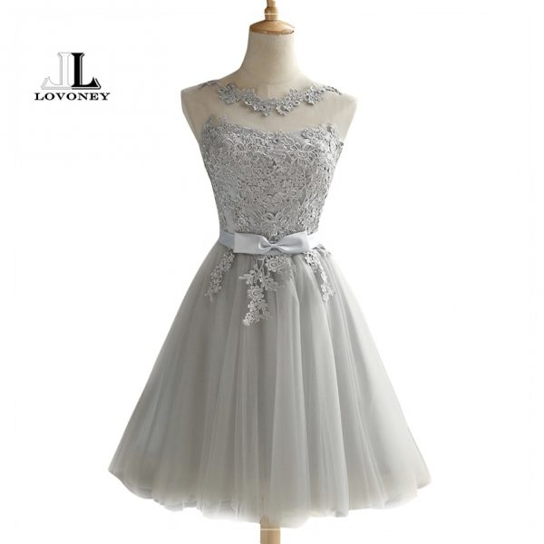 Short Prom Dresses Sexy Backless Lace Up Prom Gown