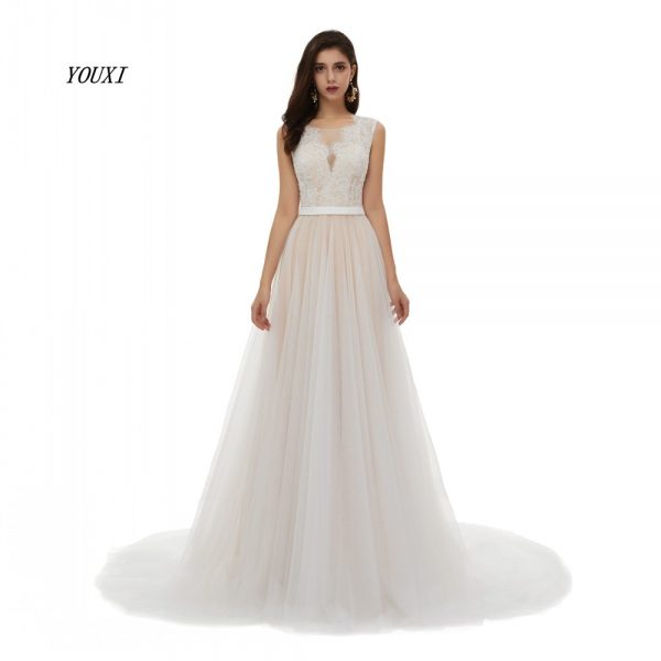 Wedding Dress A-Line Bride Gowns