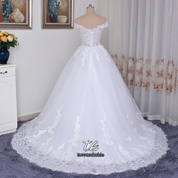 Wedding Dress Ball Applique Lace Bridal Gowns