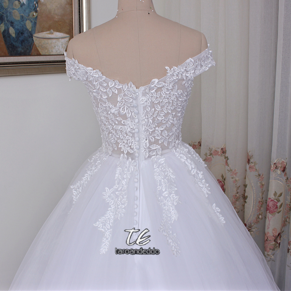 Wedding Dress Ball Applique Lace Bridal Gowns