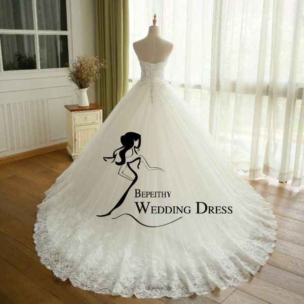 Crystal Ball Gown Wedding Dress Princess Bridal Dresses