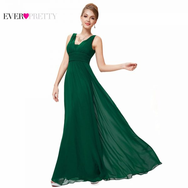 Formal Evening Dresses Ruched Bust Maxi