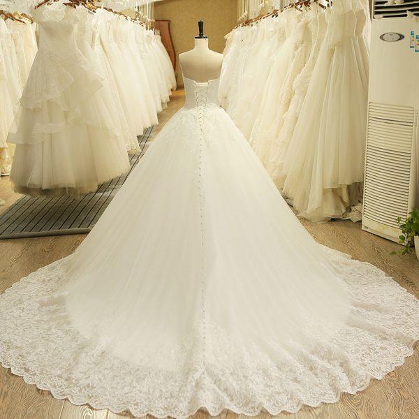 Lace Vintage Bridal Wedding Dress Princess