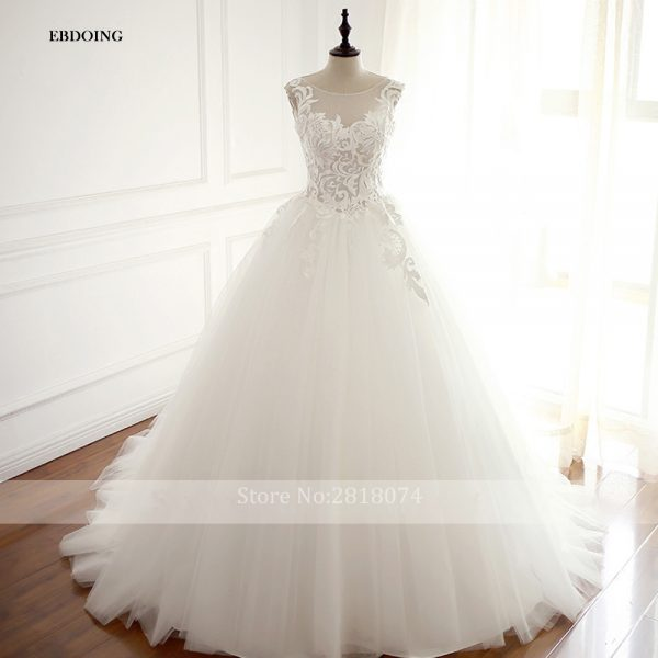 Mariage Wedding Dress Ball Novia Bridal Gown
