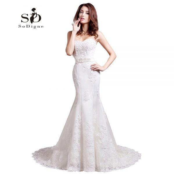Mermaid Wedding Dress Fashion Bridal Gown