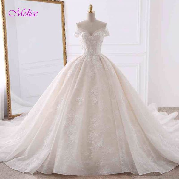 Princess Wedding Dresses Ball Gown Bridal Dress