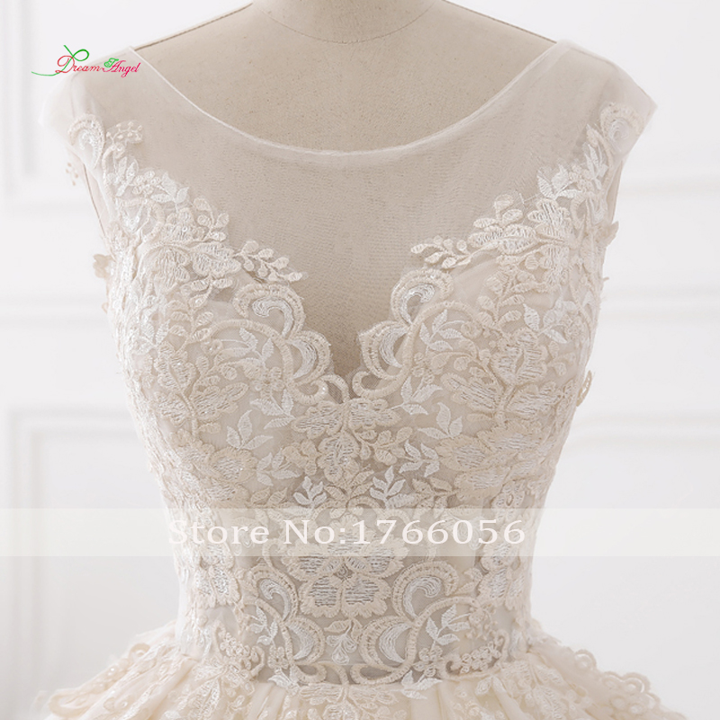 Sexy Backless Wedding Dresses Tulle Bride Gowns