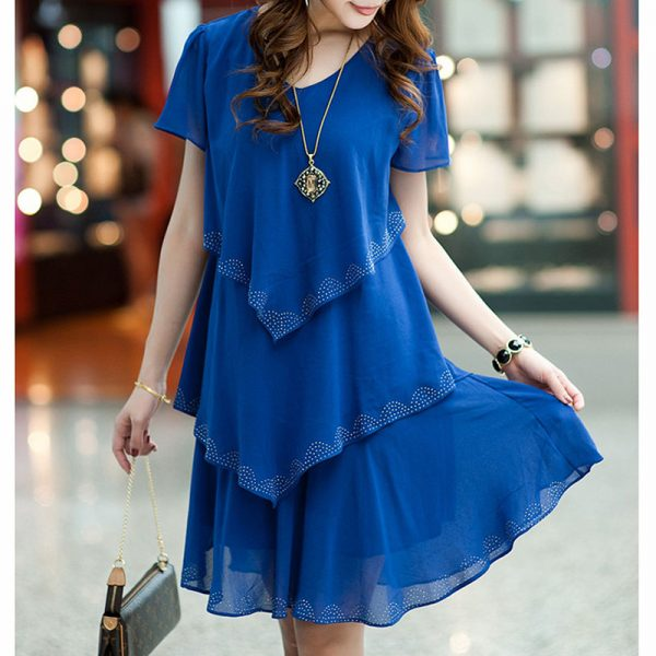 Women Chiffon Dress Summer Party Dresses