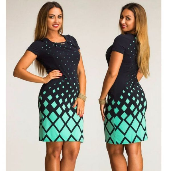 Fashionable Women Dresses Office Bodycon Dress