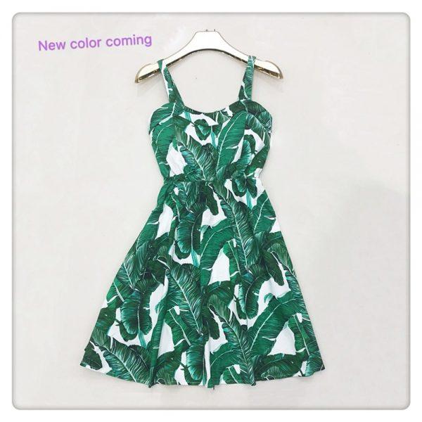 Ruffle Dot Summer Dress Beach Boho Party Dresses