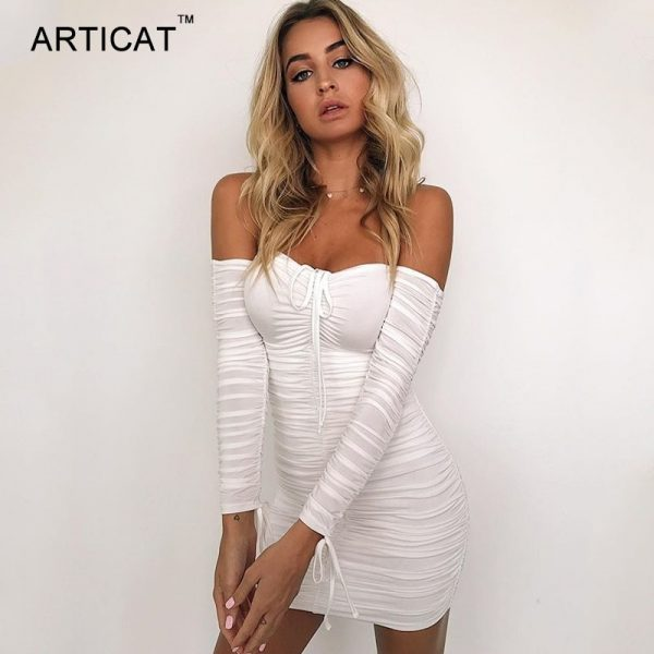 Summer Bandage Dress Sexy Beach Party Dresses