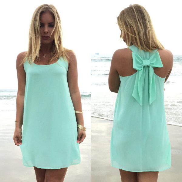 Summer Dress Women Casual Sundress