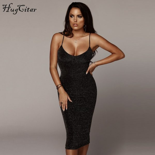 Club Dress Spaghetti Straps Slash Fashion Party Dresses