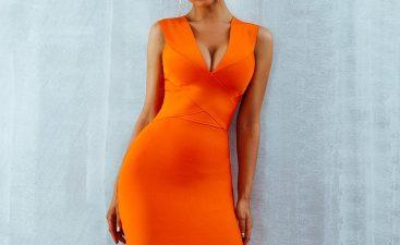 How Orange Dress Designs Has Evolving