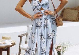 The Ideal Halter Dress