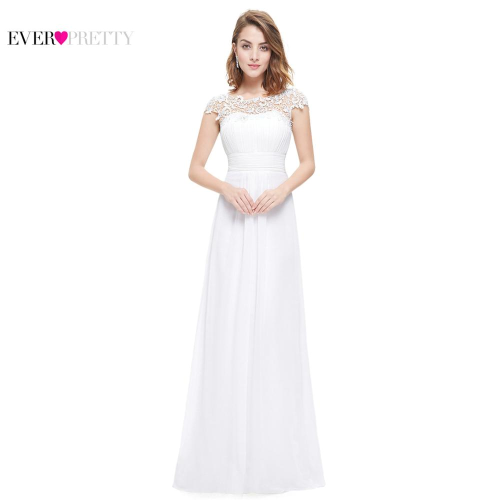 White Formal Dresses Is a Classic Choice For Bridesmaids