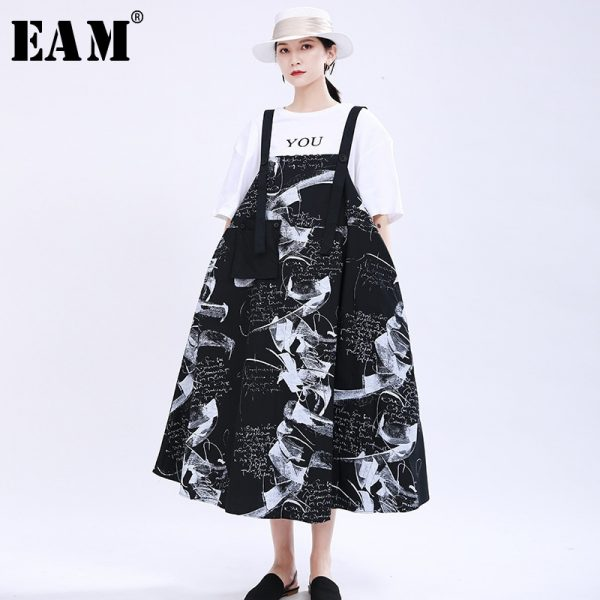 Women Printed Strapless Dress