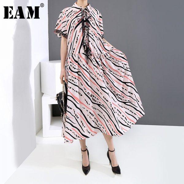 Women Striped Long Dress
