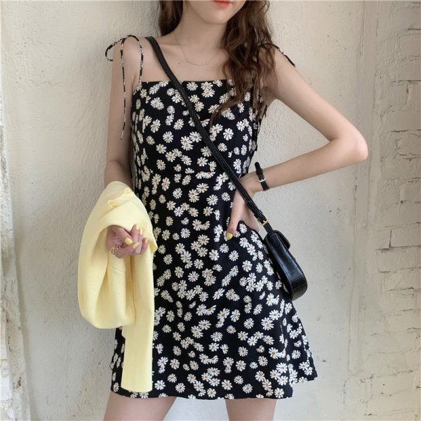 Fashion Daisy Floral Dresses