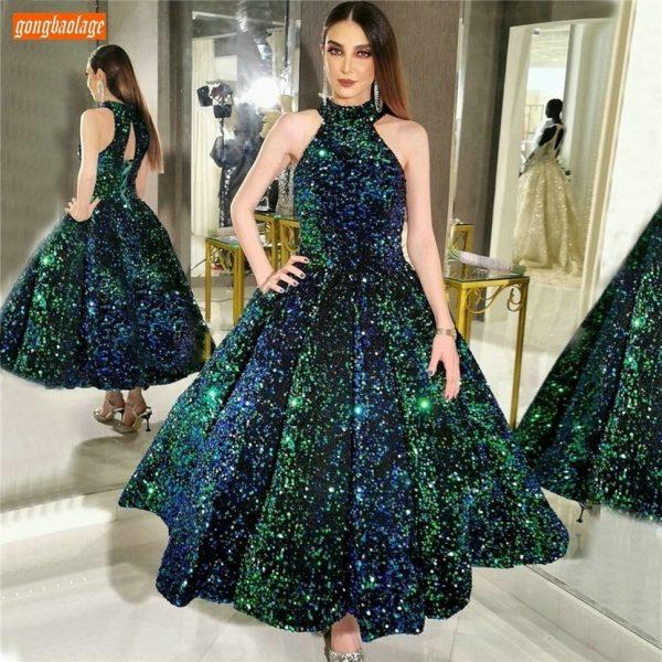 Sequin Long Prom Dresses