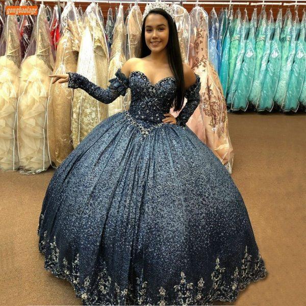 SeBall Gown Evening Dress