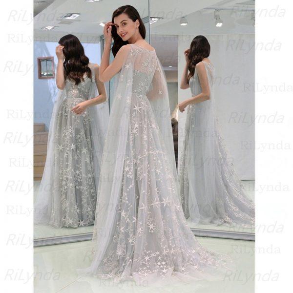 Sexy Grey Evening Dresses
