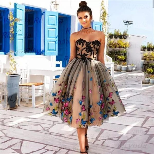 Short Prom Dress Evening Gowns