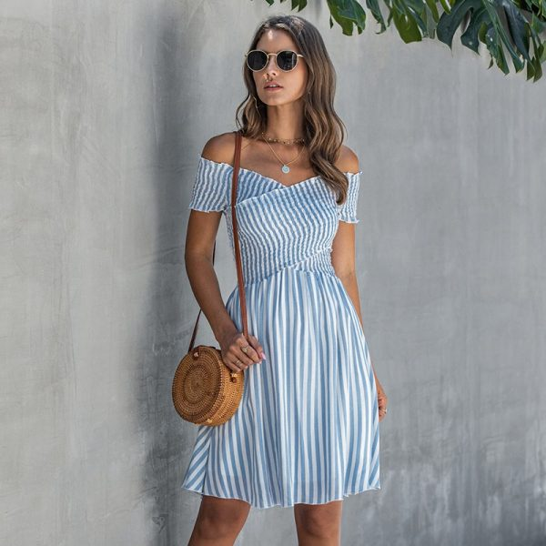 Summer Casual Striped Dress