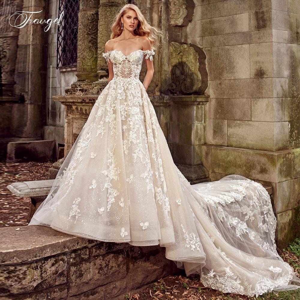 Sweetheart Lace Wedding Dresses