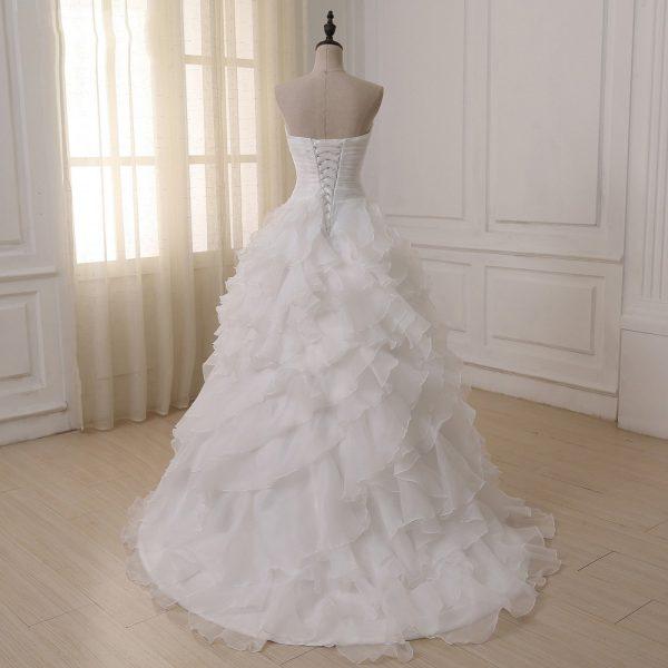 Sweetheart Ruffles Wedding Dresses