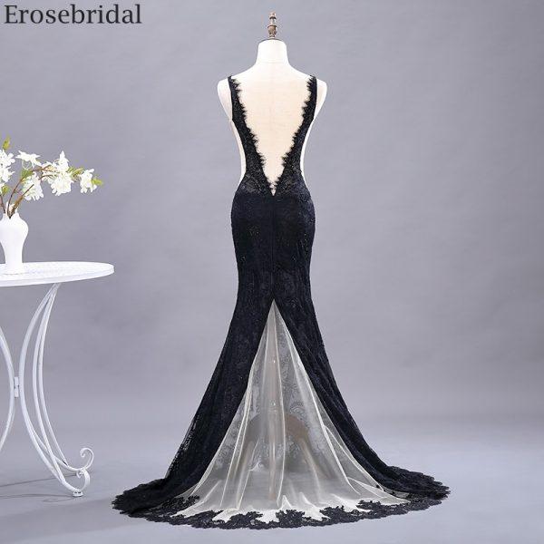 Through Mermaid Prom Dress