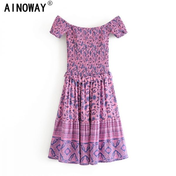 Vintage Chic Women Dress