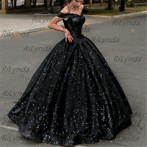 Glittering Sequin Evening Dresses