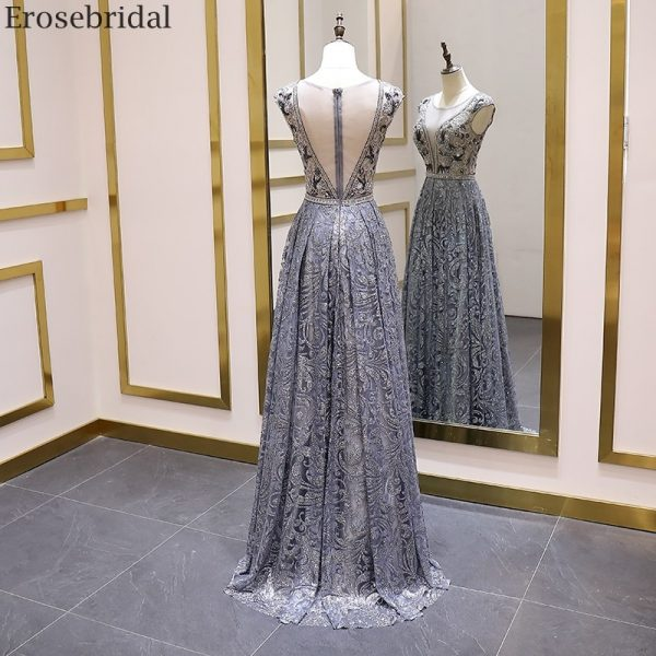 Luxury Beads Evening Gown