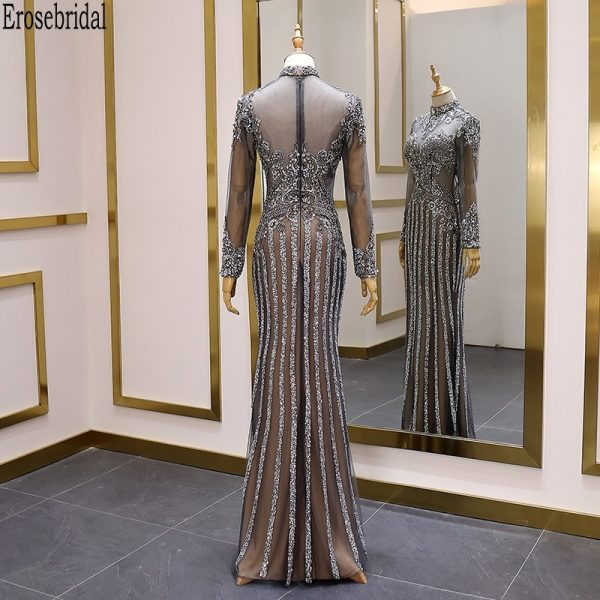 Luxury Beads Prom Dress