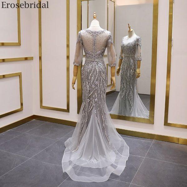 Beads Dress, Evening Dress, Long Dress, Luxury Dress, Mermaid Dress, Prom Dress