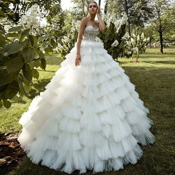 Romantic Sweetheart Ball Gown