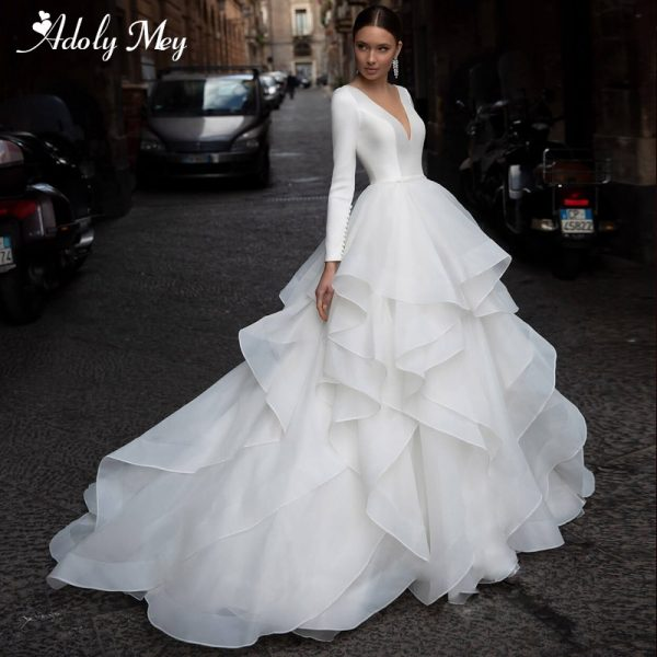 Scoop Neck Wedding Dresses