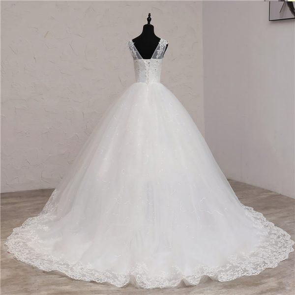Africa Style Wedding Dress