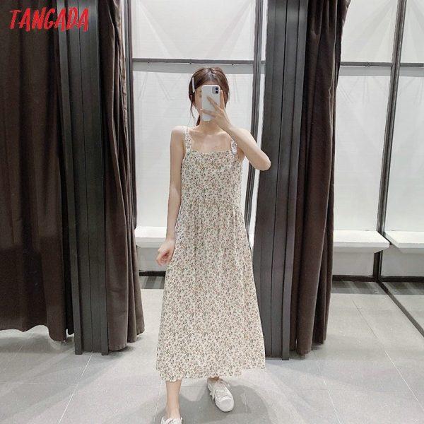 Backless Sleeveless Ladies Dress