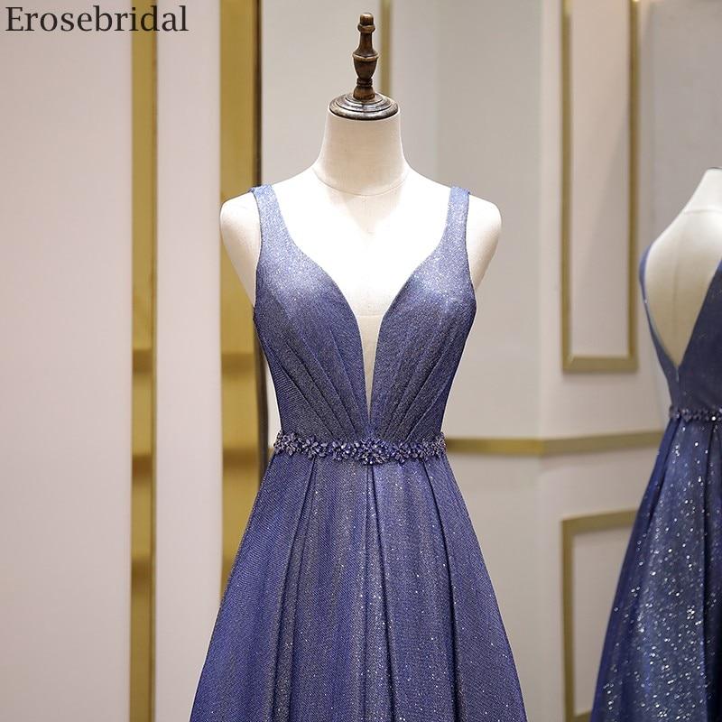 Bling A Line Evening Dress