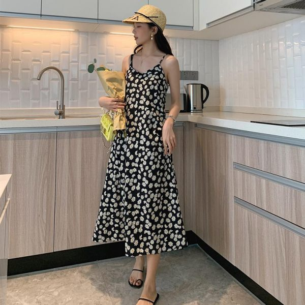 Casual Daisy Floral Dress